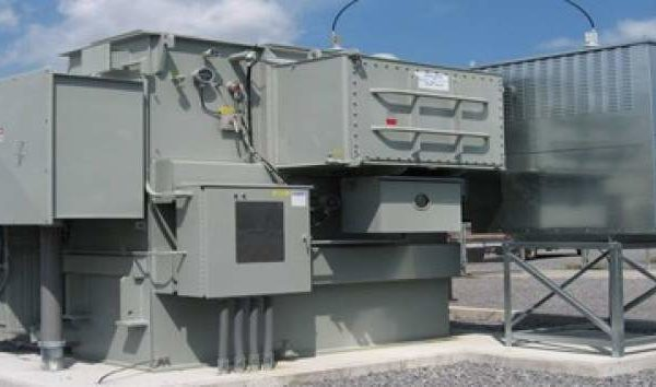 Niagara Transformer Corp. power generator for University at Buffalo