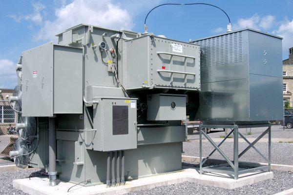 On-load Tap Changing Niagara Transformer University at Buffalo NY